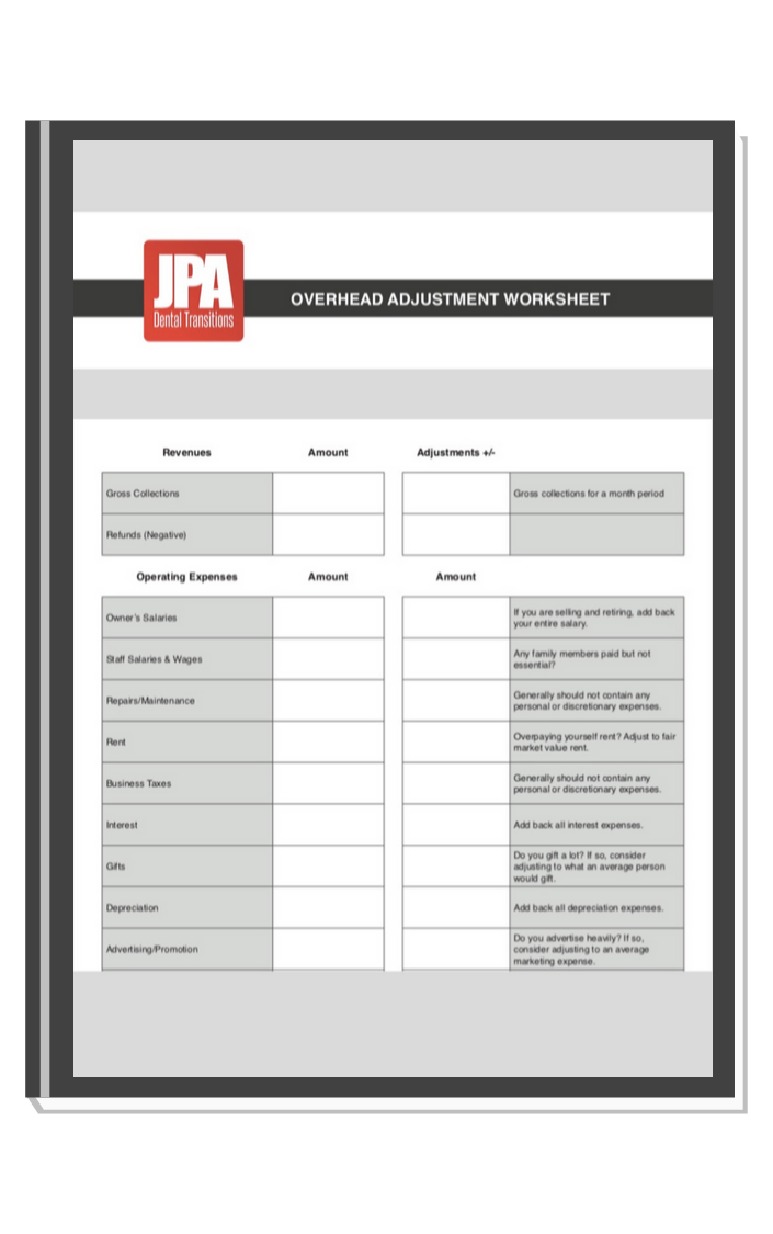 JPA Worksheet offer graphic