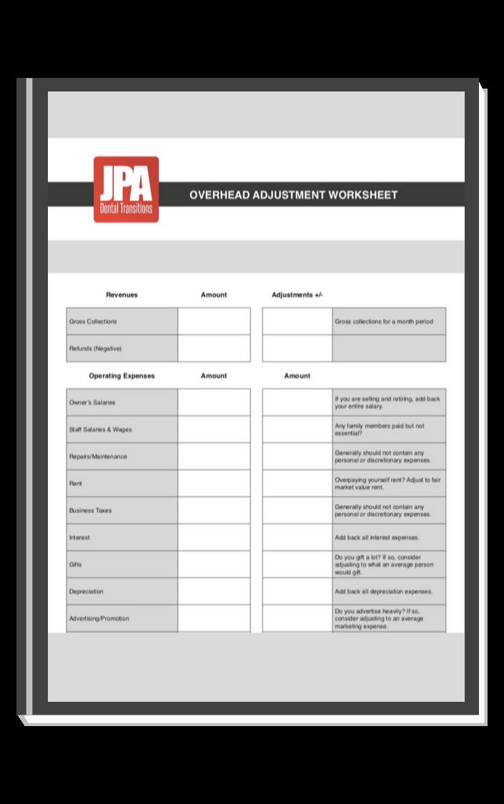 JPA Worksheet offer graphic
