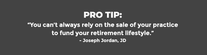 Pro Tip Retirement